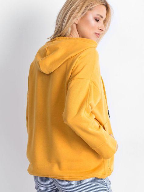 Ciemnożółta bluza Replicating                              zdj.                              2