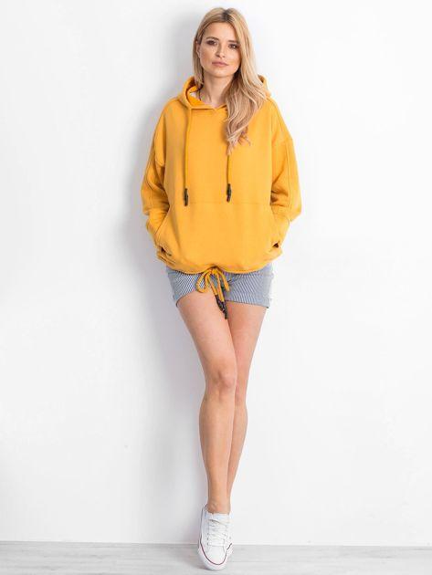 Ciemnożółta bluza Replicating                              zdj.                              4