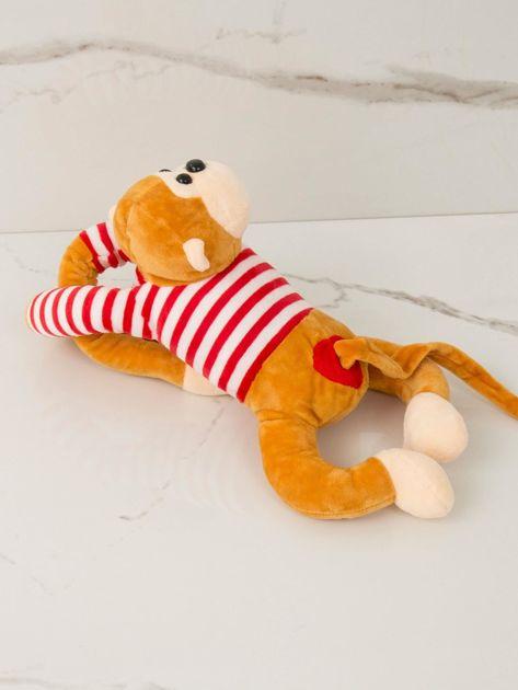 Ciemnożółta maskotka Małpka                              zdj.                              2