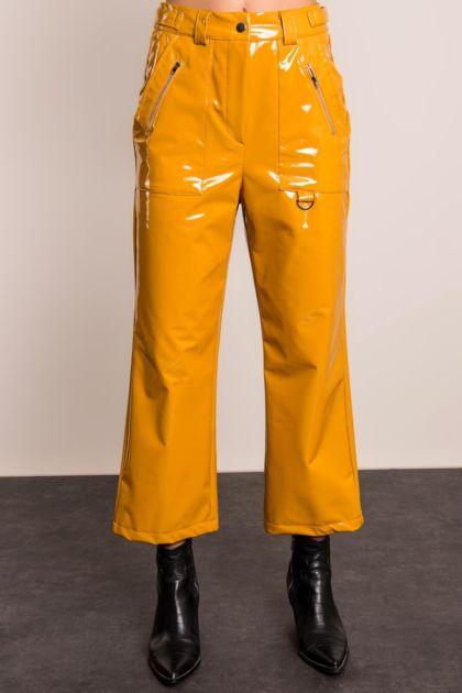Ciemnożółte spodnie BSL