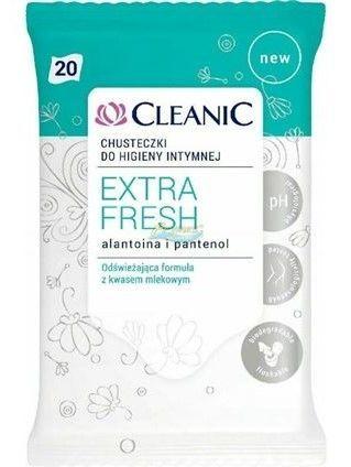 Cleanic Chusteczki do higieny intymnej Extra Fresh  1op.- 20szt