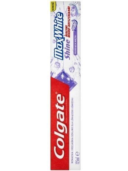 Colgate Pasta do zębów Max White Shine 125 ml