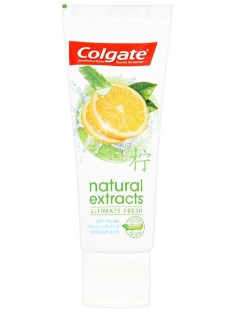 Colgate Pasta do zębów Natural Extracts Ultimate Fresh odświeżająca 75 ml                              zdj.                              2