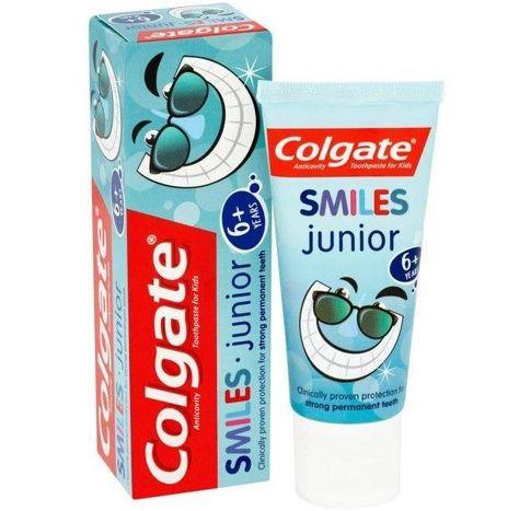 Colgate Pasta do zębów dla dzieci Smiles Junior (6+) 50 ml                              zdj.                              2