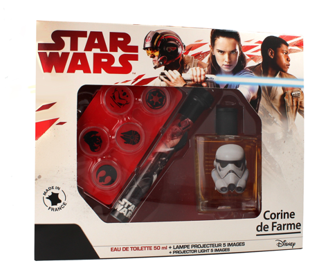 Corine de Farme Zestaw prezentowy Star Wars (woda toaletowa 50 ml+projektor +5 obrazków)