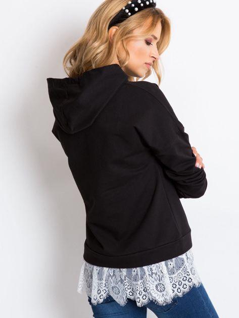 Czarna bluza Chic                              zdj.                              2