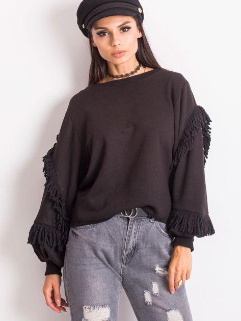Czarna bluza Silvia                              zdj.                              3