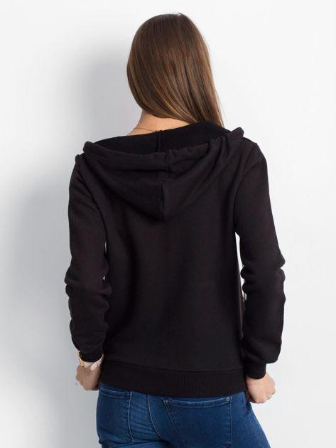 Czarna bluza Warmth                              zdj.                              2