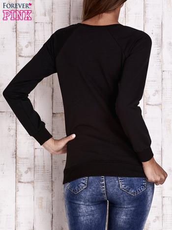 Czarna bluza w kwiaty                                  zdj.                                  4