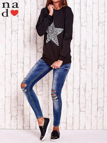 Czarna bluza z gwiazdą                                  zdj.                                  2