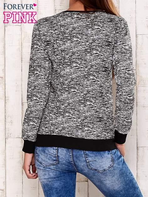 Czarna bluza z napisem NEW YORK STREET                                  zdj.                                  4