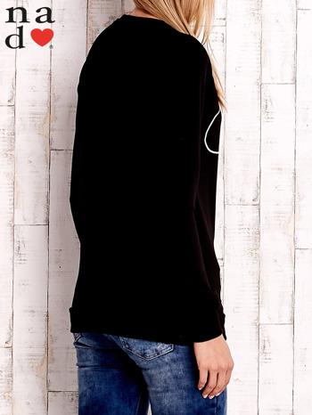 Czarna bluza z napisem SMILER                              zdj.                              4