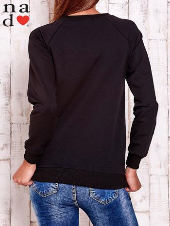 Czarna bluza z piórkiem                                  zdj.                                  5