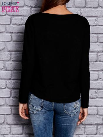 Czarna bluza z sercem                              zdj.                              4
