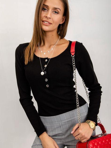 Czarna bluzka Christina