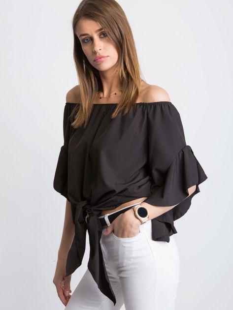 Czarna bluzka Craving                              zdj.                              5