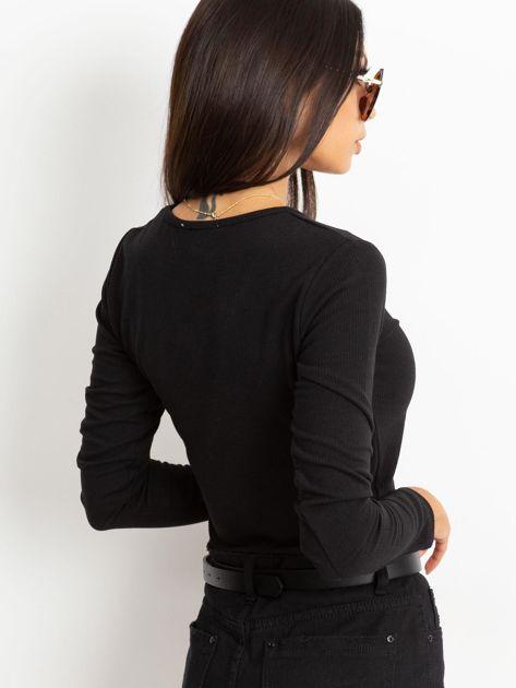 Czarna bluzka Eliane                              zdj.                              2