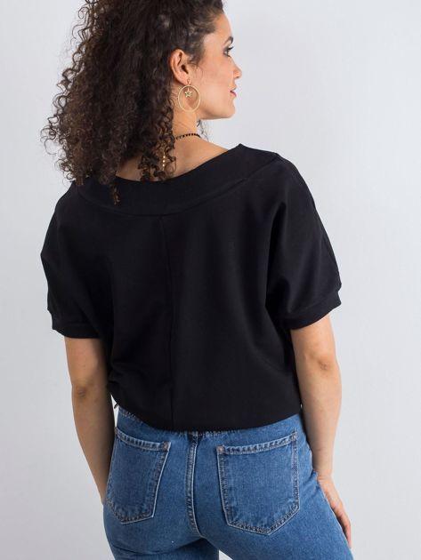 Czarna bluzka Lemontree                              zdj.                              2