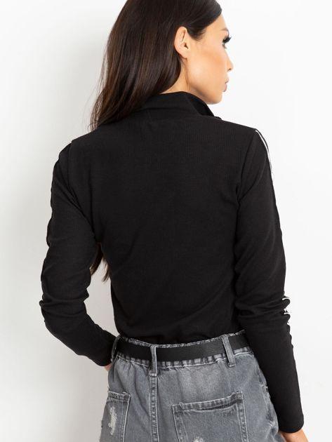 Czarna bluzka Lucky                              zdj.                              2