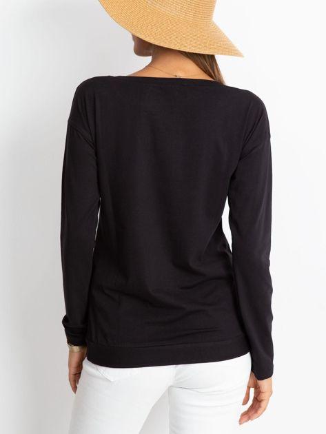 Czarna bluzka Say                              zdj.                              2