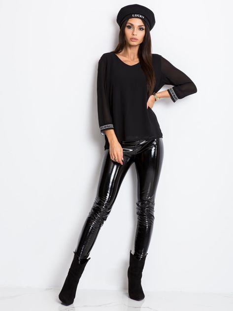 Czarna bluzka Tamara                              zdj.                              4