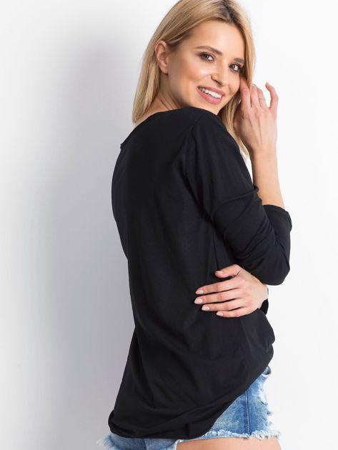 Czarna bluzka Wearable                              zdj.                              2