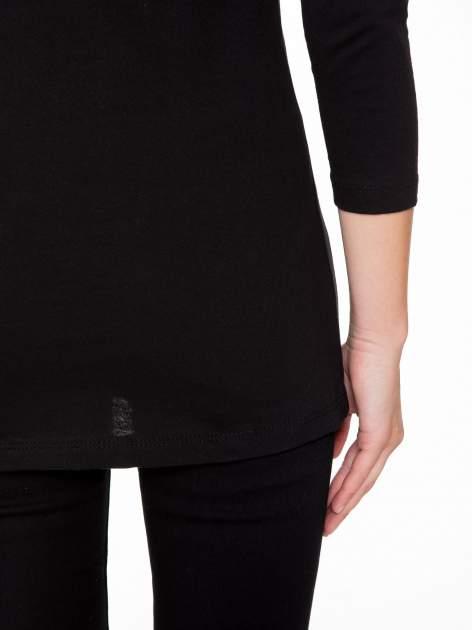 Czarna bluzka z portretem Audrey Hepburn                                  zdj.                                  10