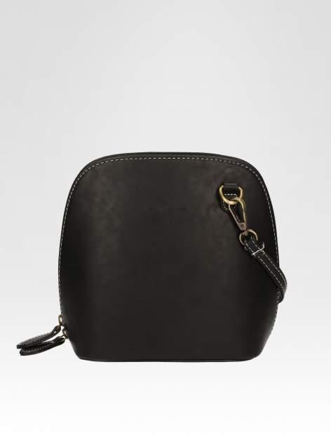 Czarna elegancka listonoszka z odpinanaym paskiem                                  zdj.                                  1