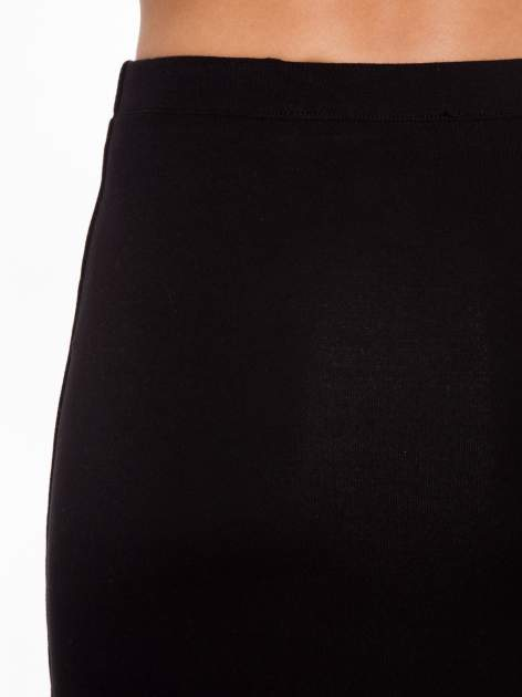 Czarna elegancka spódnica ołówkowa do kolan                                  zdj.                                  10