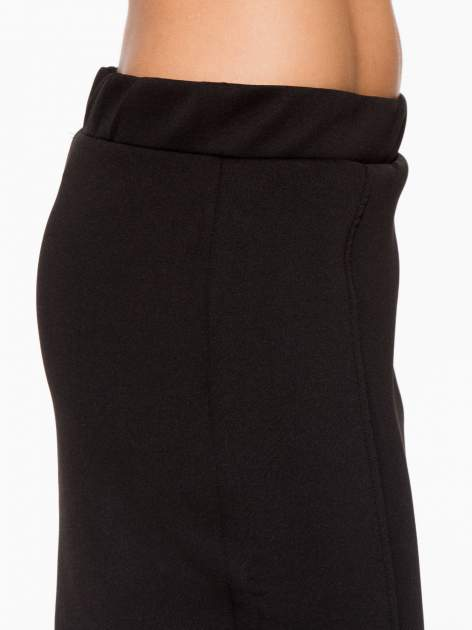 Czarna elegancka spódnica ołówkowa do kolan                                  zdj.                                  8
