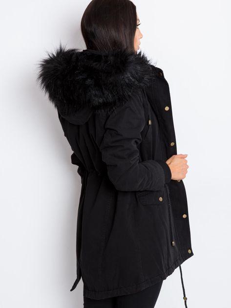 Czarna kurtka Heavy                              zdj.                              2