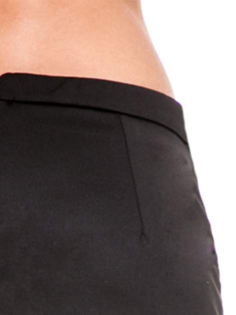 Czarna minispódnica z asymetrycznym suwakiem                              zdj.                              8