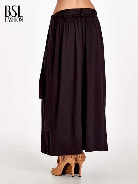 Czarna plisowana spódnica maxi                                  zdj.                                  4