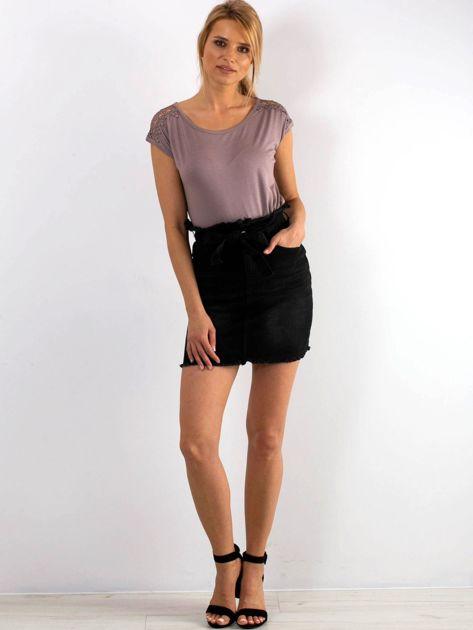 Czarna spódnica Tasty                              zdj.                              4