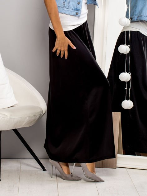 Czarna spódnica maxi                                   zdj.                                  4