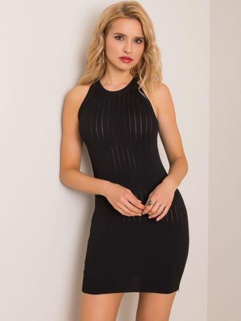 Czarna sukienka Agnes RUE PARIS