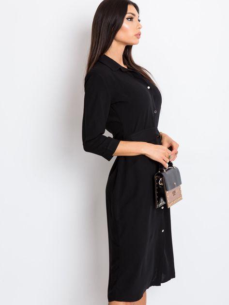 Czarna sukienka Amber                              zdj.                              3