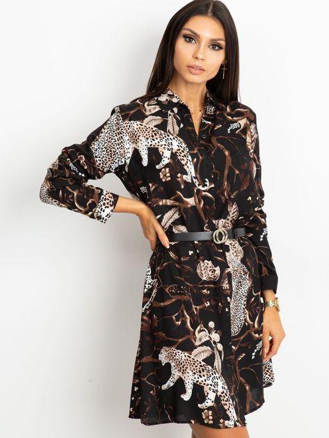 Czarna sukienka Beverly                              zdj.                              3