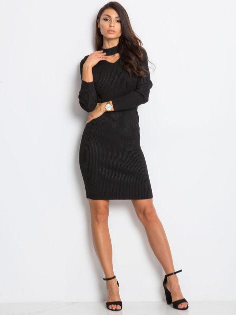 Czarna sukienka Blink                              zdj.                              4