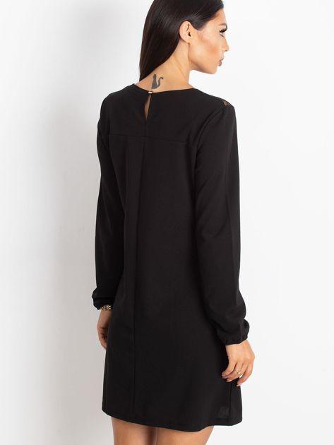 Czarna sukienka Bombay                              zdj.                              2