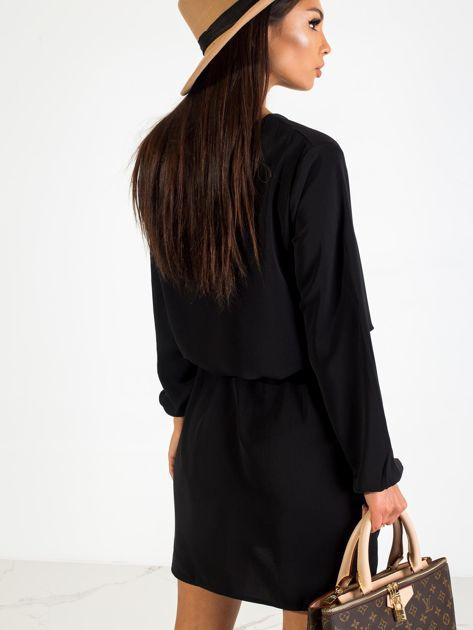 Czarna sukienka Castle                              zdj.                              3