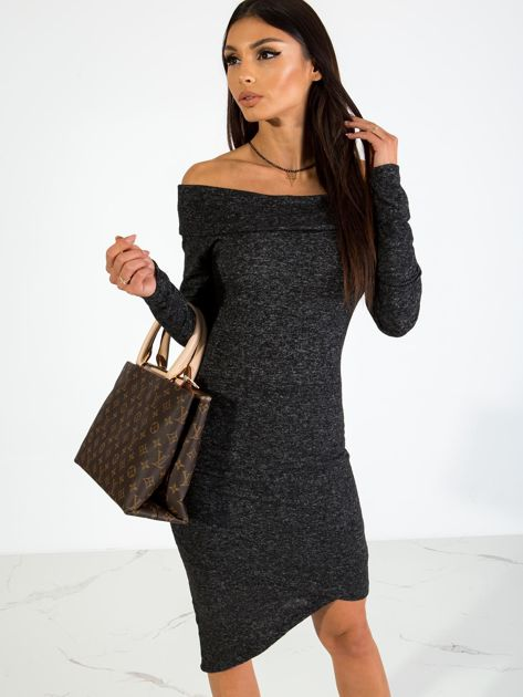 Czarna sukienka Classy                              zdj.                              5