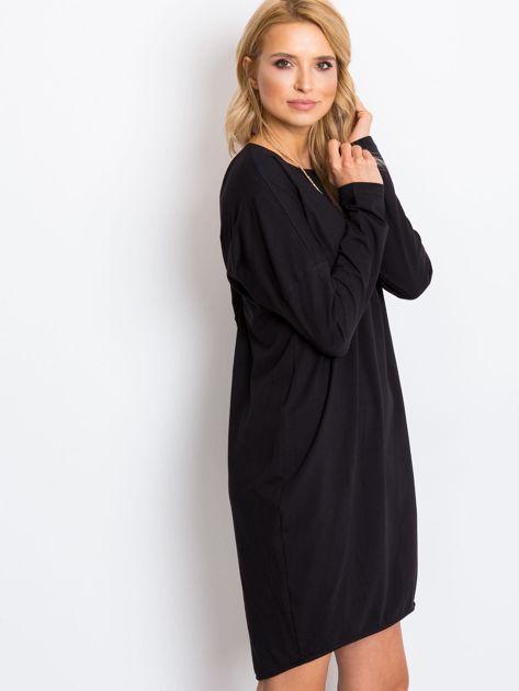 Czarna sukienka Daisy                              zdj.                              3