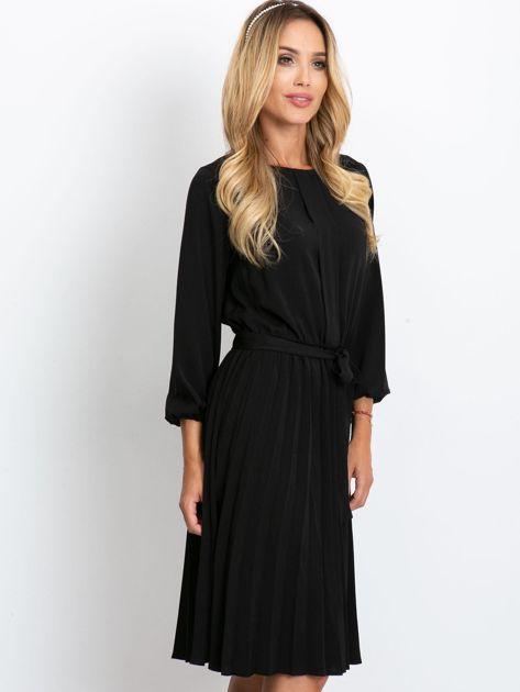 Czarna sukienka Dakota                              zdj.                              3