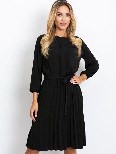 Czarna sukienka Dakota                              zdj.                              5