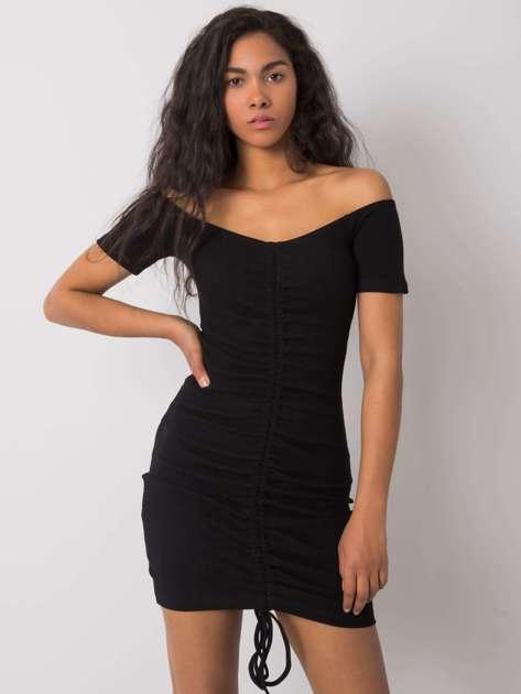 Czarna sukienka Eduarda RUE PARIS
