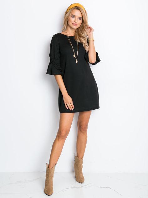 Czarna sukienka Fame                              zdj.                              4