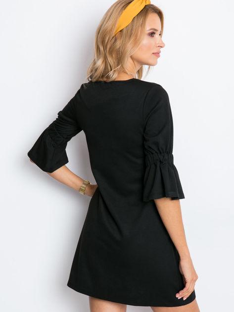 Czarna sukienka Fame                              zdj.                              2
