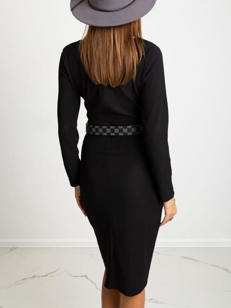 Czarna sukienka Fireside                              zdj.                              2