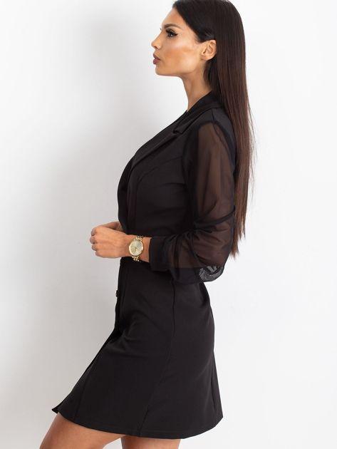Czarna sukienka Master                              zdj.                              3